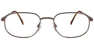 2c70a604cbe Metal Rectangle RX Safety Eyewear Frames Artcraft WF677