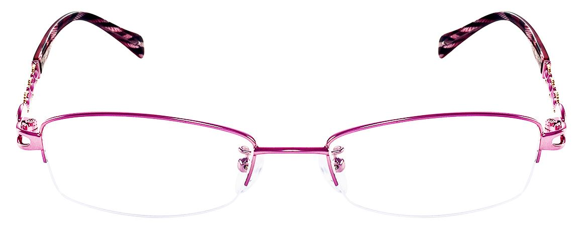 791dc80a28 Stainless Steel Rectangle RX Glasses Frames For Women N8513