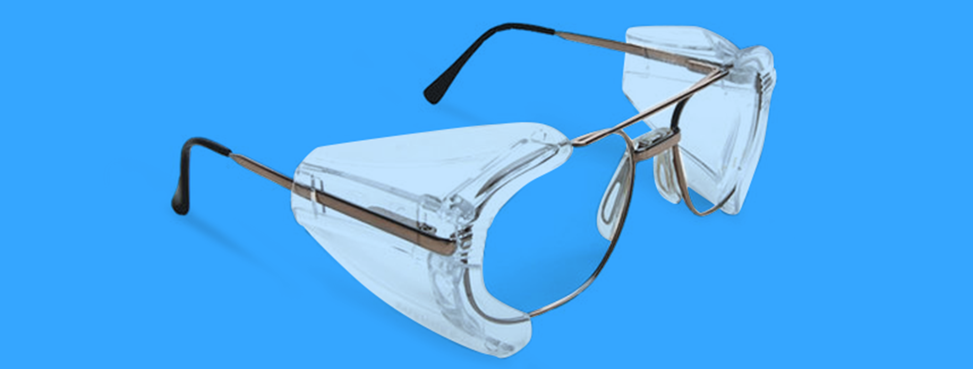 7218e068bd Side Shields Available for Prescription Safety Glasses