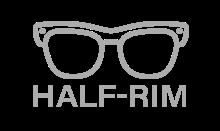 Half-Rim Safety Glasses