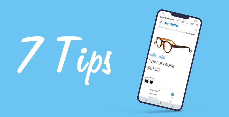 7 Tips from Pro to Buy Prescription Eyeglasses Online