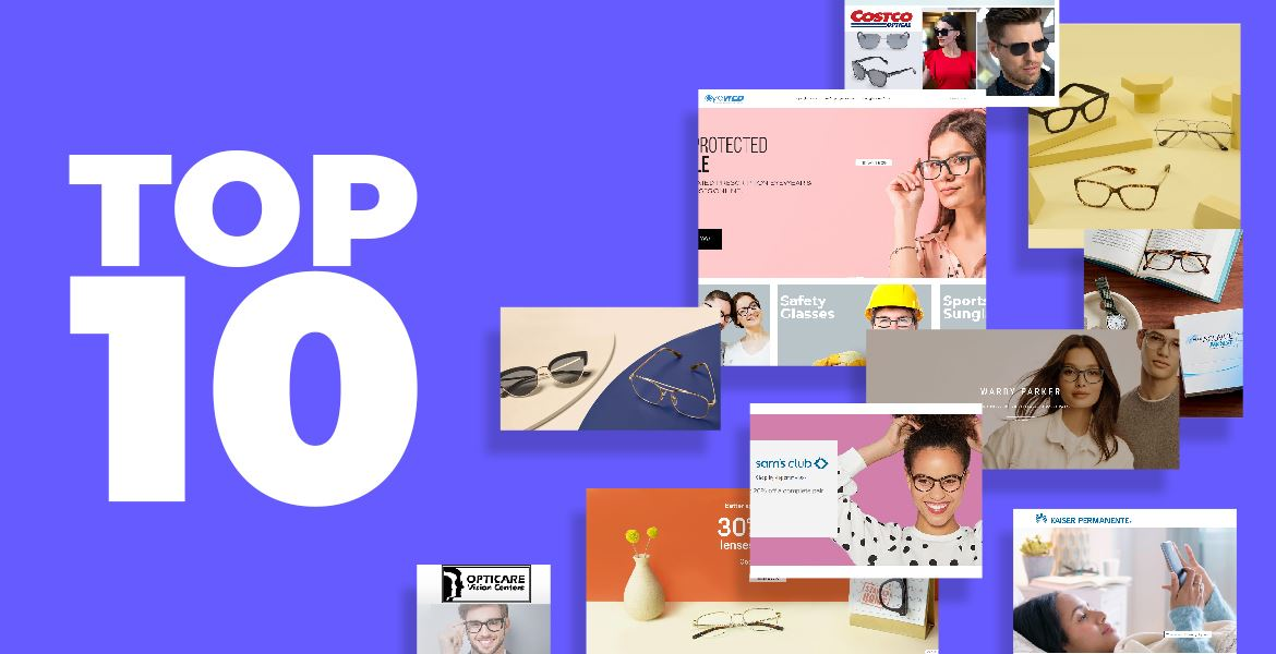 Top 10 Online Glasses Shops in the USA